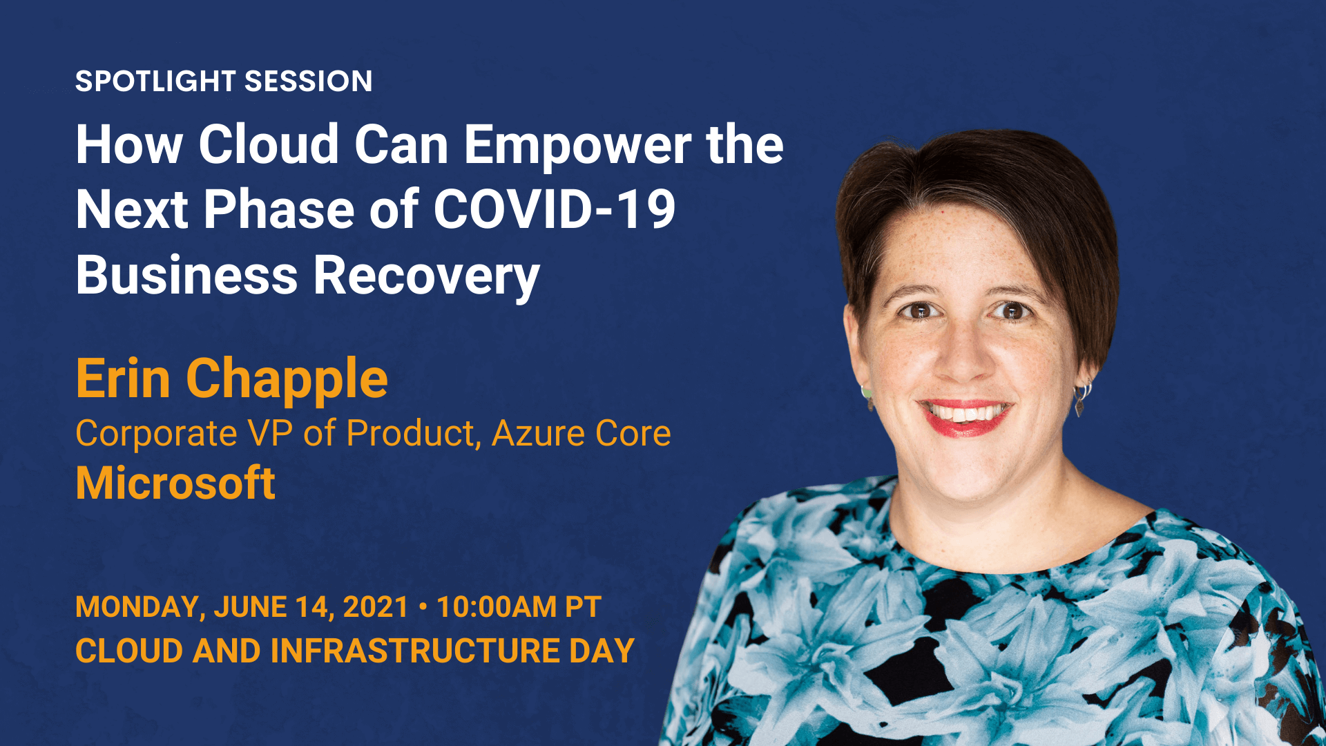 How Cloud Can Empower the Next Phase of COVID-19 Business Recovery — (Erin Chapple — Microsoft