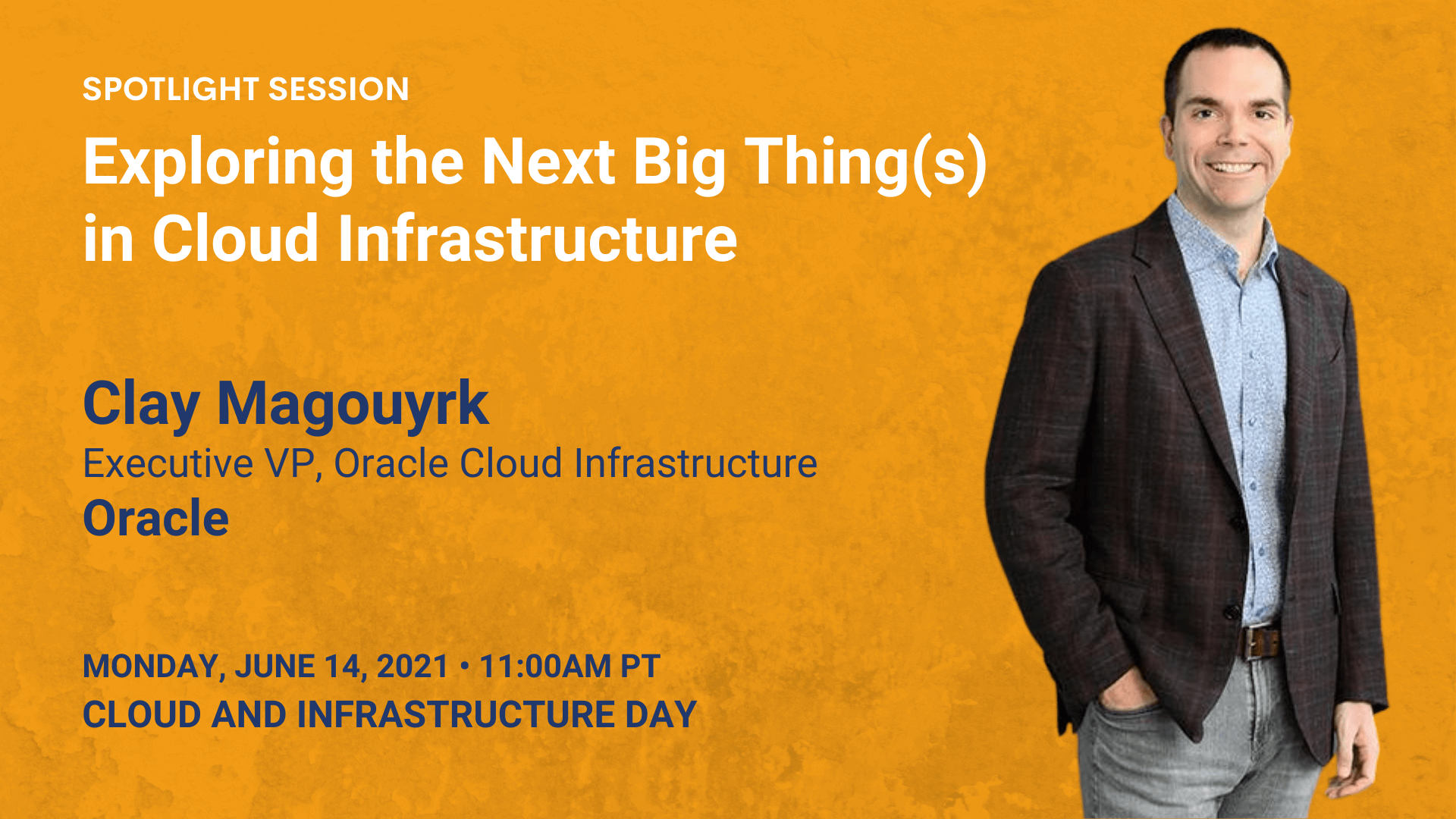 Over the past year, the pandemic clearly accelerated cloud adoption. In this session, Oracle EVP of OCI Clay Magouyrk will look ahead, discussing why businesses' need for flexibility will drive hybrid and multi-cloud deployments, as well as expanded use of machine learning and AI. Magouyrk will also address customers' remaining concerns about cost and complexity, and how Oracle can alleviate those worries with more deployment choice, better economics, and an easier migration path. (ClayMagouyrk)