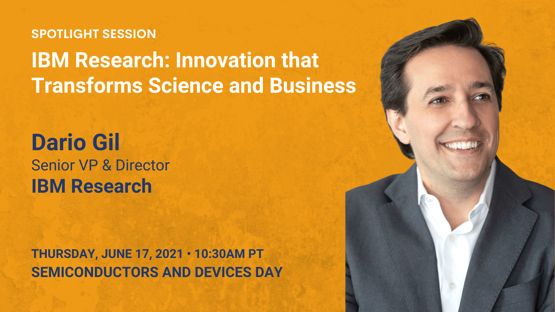 IBM Research: Innovation That Transforms Science and Business (Dario Gil)